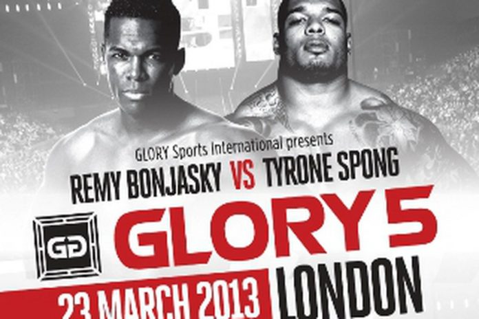 GLORY 5 London Finalized Fight Card, This Saturday March 23