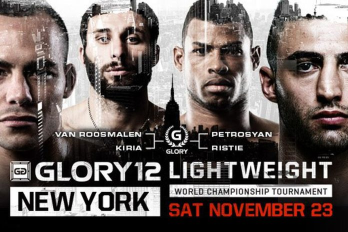 GLORY 12 Live Results and Updates