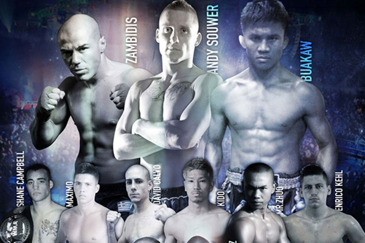K-1 World Grand Prix Final 16 Live Results