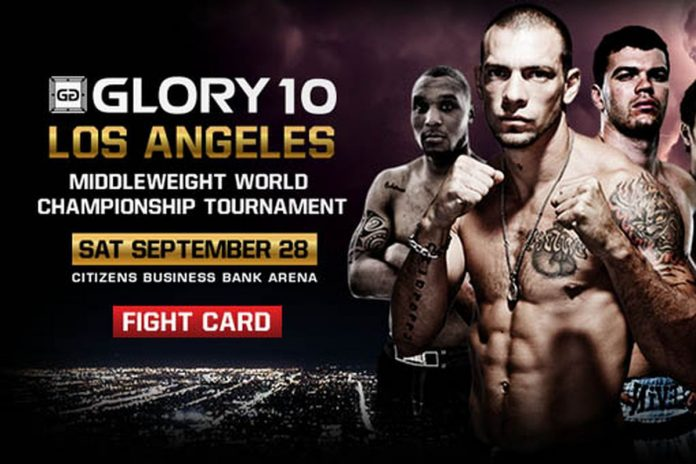 GLORY 10 Los Angeles: Middleweight Tournament