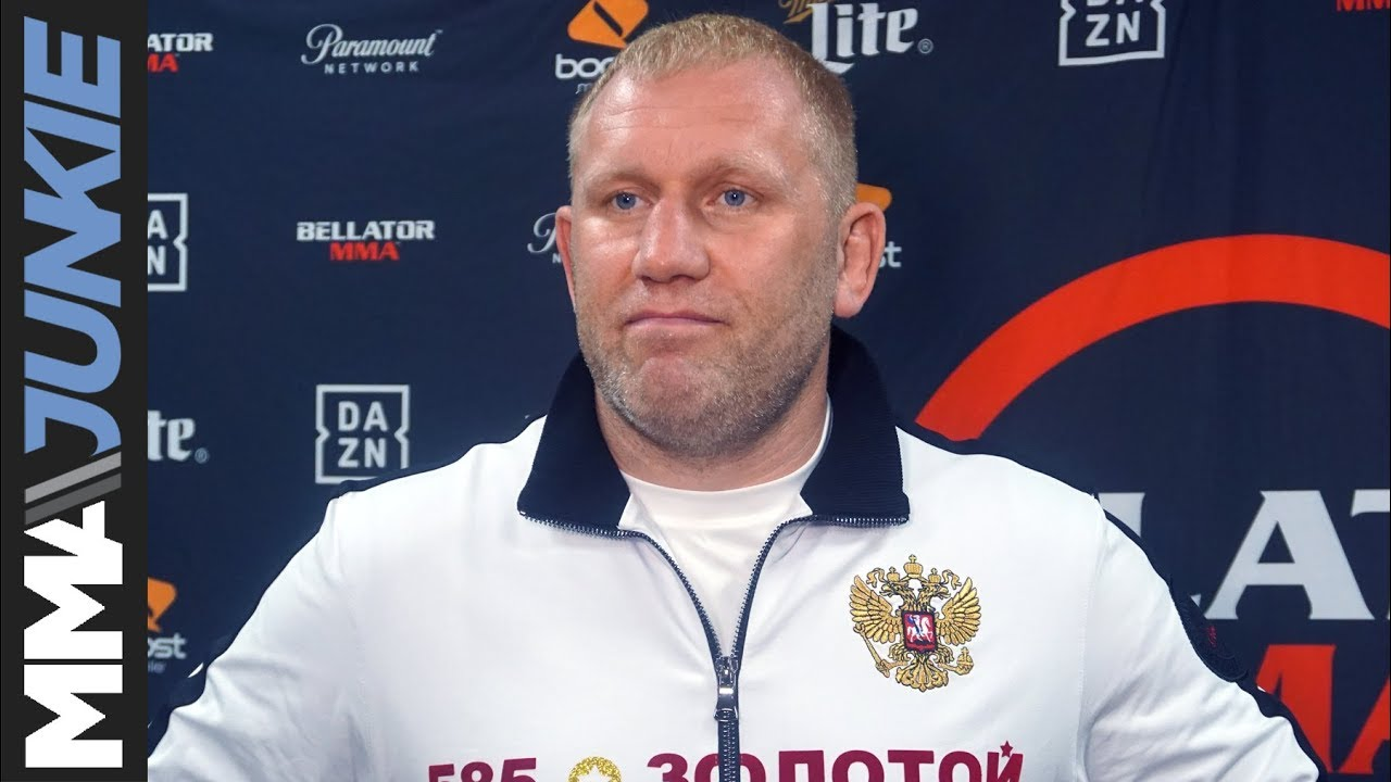 Sergei Kharitonov Out of Cro Cop Bout at GLORY 17
