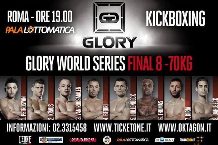 GLORY 3 Rome - Final 8: Live Results