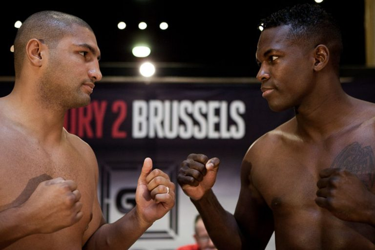 GLORY 2 Brussels Live Results