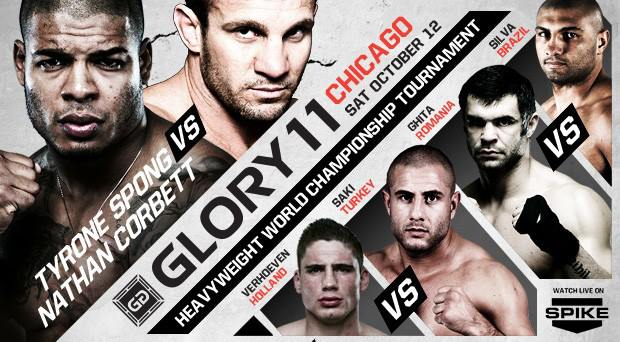 GLORY 11 Main Event Confirmed as Corbett vs. Spong
