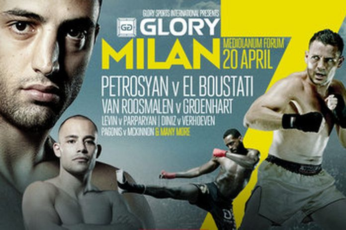 GLORY 7 Milan Live Results