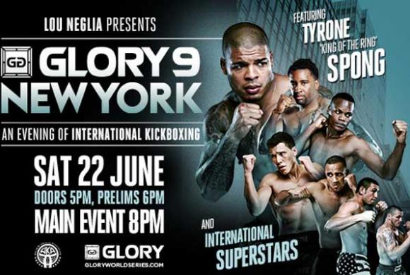 Tyrone Spong Wins GLORY 9 Light Heavyweight Tournament