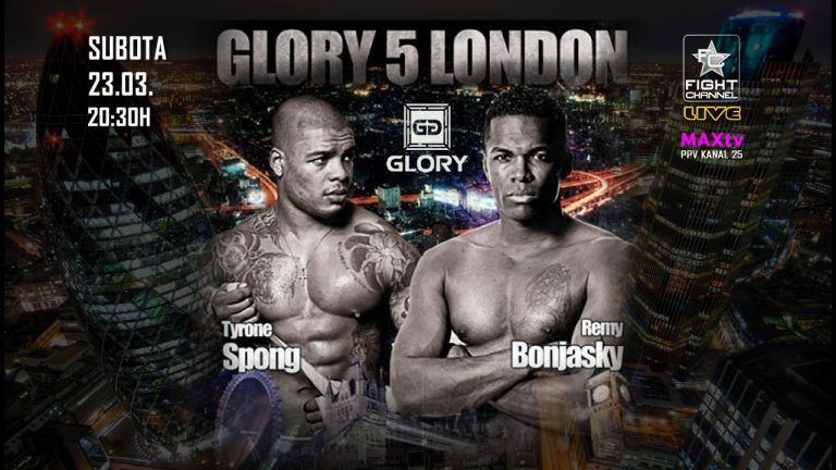 GLORY 5 London Live Results
