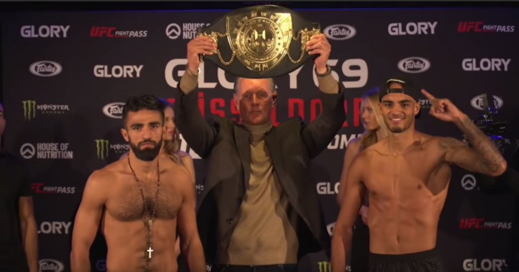 GLORY 10 Live Results and Updates