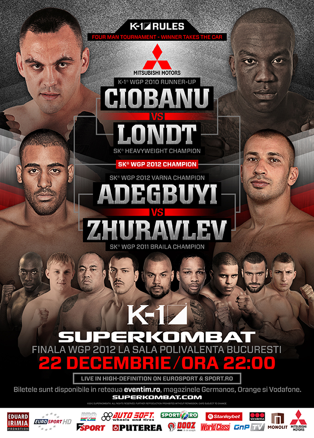SuperKombat WGP Final 2012 Fight Card, Ustream PPV Available