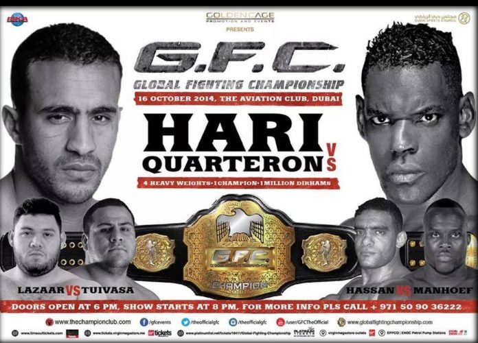 Badr Hari vs. Patrice Quateron Official For GFC on Oct. 16th