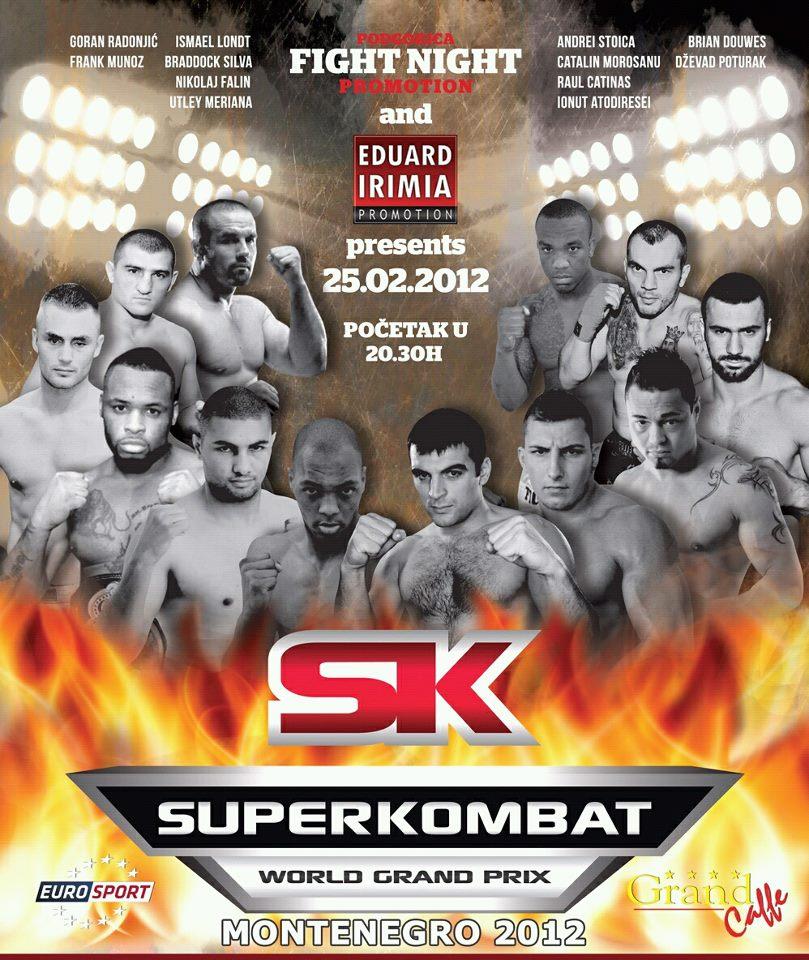 SuperKombat 2012 World Grand Prix I: Montenegro Live Results