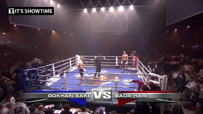 Badr Hari Drops Gokhan Saki Three Times in Impressive Performance at It's Showtime 55