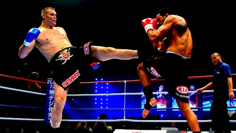 Semmy Schilt Wins Over Daniel Ghita to Claim GLORY Grand Slam Crown