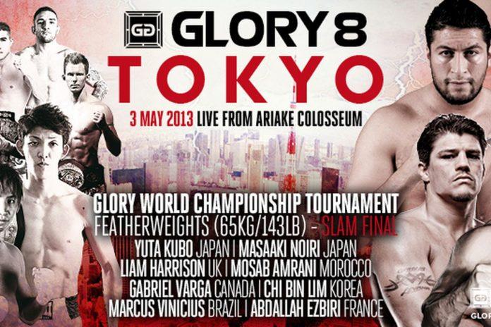 GLORY 8 Tokyo 65kg Tournament Matches Announced