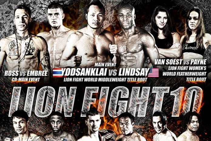 New Fights Announced for Lion Fight 10